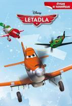 Walt Disney: Letadla - Čtení se samolepkami (Egmont)