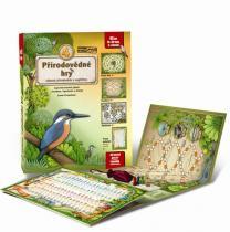 4 přírodovědné hry - Leporelo her s kostkou, figurkami a žetony, pro zábavné učení přírodopisu a angličtiny - Lucie Ernestová leporelo