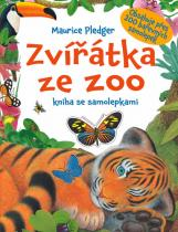 Maurice Pledger: Zvířátka ze ZOO - kniha se samolepkami