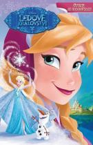 Walt Disney: Ledové království - Čtení se samolepkami