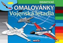 didaktické omalovánky: Vojenská letadla