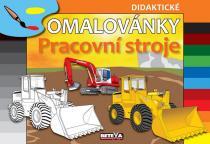 didaktické omalovánky: Pracovní stroje