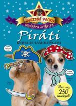 Kniha se samolepkami: Hvězdné packy – Piráti