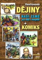 Petr Dvořáček: Ilustrované dějiny naší země pro děti i dospělé + komiks