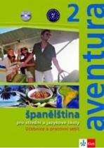 Aventura 2 - Španělština pro SŠ a JŠ - Metodická příručka - CD - Peňaranda C. Ferrer Brožová Kateřina, CD