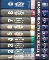 Technický slovník naučný - 8 dílů + CD-ROM