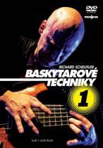 Baskytarové techniky 1 - DVD - Richard Scheufler