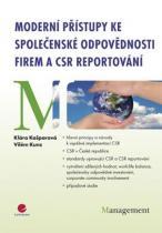 Kunz Vilém, Kašparová Klára: Moderní přístupy ke společenské odpovědnosti firem a CSR reportování