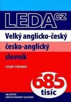 Josef Fronek: Velký anglicko-český a česko-anglický slovník