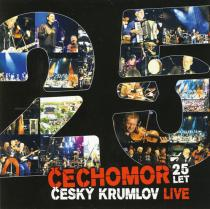 Čechomor - 25 let Český Krumlov CD/DVD - Čechomor CD