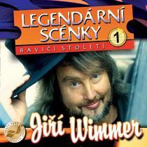 Legendární scénky - CD - Jiří Wimmer CD