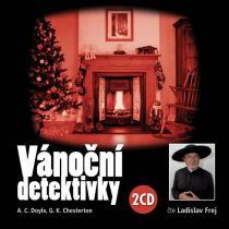 Vánoční detektivky (čte Ladislav Frej) - Doyle Arthur Conan, Chesterton Gilbert Keith