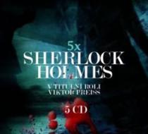 Sherlock Holmes - 5CD - Arthur Conan Doyle CD