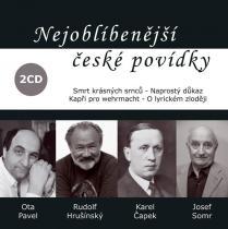 Nejoblíbenější české povídky - (čte Rudolf Hrušínský) - Pavel Ota, Čapek Karel CD