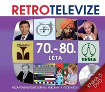 Retro televize - 70.-80. léta - DVD + kniha