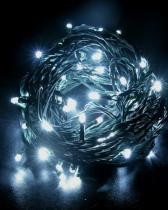 SOLIGHT Solight řetěz LED, 60 LED, 10m, přívod 3m, IP20, bílý