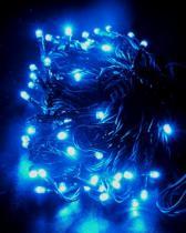 SOLIGHT Solight řetěz LED, 60 LED, 10m, přívod 3m, IP20, modrý