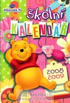 Medvídek Pú - školní kalendář 2008/2009