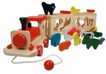 Vlak se zvířátky - Zoo Trenino