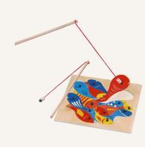Magnetická hra Aquari - puzzle rybičky s udičkou