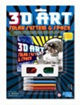 3D umění - Sluneční soustava