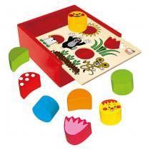 Krtek - Krabička s tvary