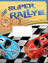 Super rallye - knížka se závodní dráhou