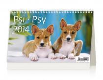 Kalendář 2014 - Psi - stolní