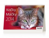 Kalendář 2014 - Kočky - stolní