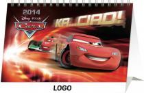 Kalendář 2014 - W. Disney Autíčka - stolní