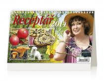 Kalendář 2014 - Receptář - stolní