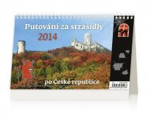 Kalendář 2014 - Putování za strašidly po České republice - stolní