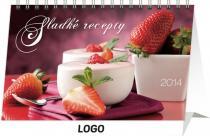 Kalendář 2014 - Sladké recepty - stolní