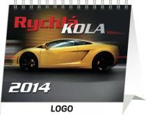 Kalendář 2014 - Auta Praktik - stolní