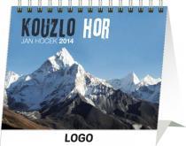Kalendář 2014 - Kouzlo hor Praktik - stolní