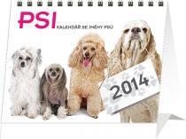 Kalendář 2014 - Psi se jmény psů Praktik - stolní