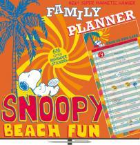 Kalendář poznámkový plánovací - Snoopy - nedatovaný, 30 x 60 cm