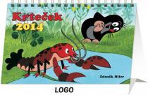 Kalendář 2014 - Krteček - stolní