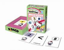 Vzdělávací karty - Počítání - Hello Kitty