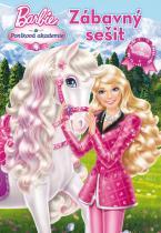 Mattel: Barbie a Poníková akademie zábavný sešit