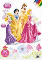 Princezny 2 - Omalovánky 80 stran