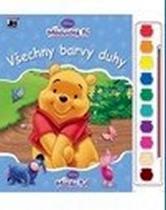 Omalovánky s barvami: Medvídek Pú