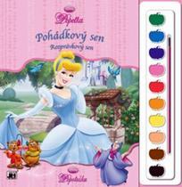 Omalovánky s barvami: Popelka