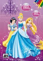 Omalovánka A5: Disney princezny