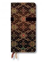 Paperblanks Zápisník - Noir, slim 90x180