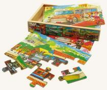 Puzzle v krabičce - doprava