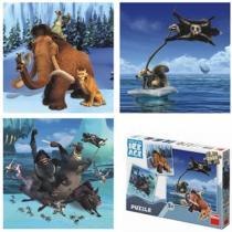 Doba ledová - Puzzle - 3x55