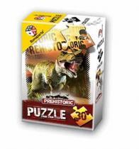 Puzzle 30 v krabičce - Prehistoric 3D