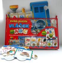 Vláček ABC - Velké puzzle