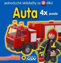 Auta - Puzzle
